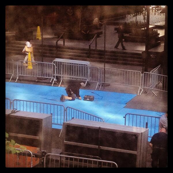 It's a #tfios blue carpet for the #tfiospremiere. http://t.co/pj6jiMuKY1