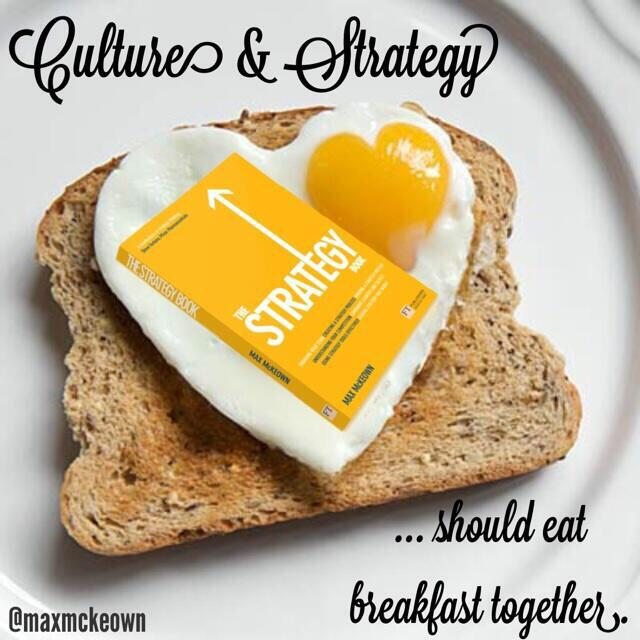 Twitter / JoyAndLife: Culture and Strategy should ...