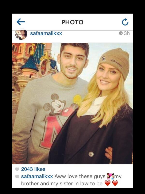Zaynperrie Updates On Twitter Safaa Zayns Little Sister Posted