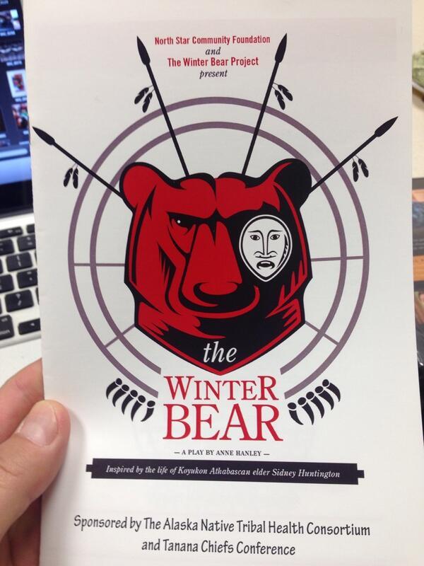 More on Winter Bear Project #pennalaska14 #youthsuicide http://t.co/bY9LZYo0tc