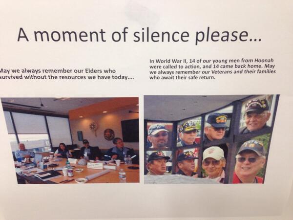 More images of #youthsuicide progress here in Alaska via Barbara Franks #youthsuicide #pennalaska14 http://t.co/7CHbgpCfiI