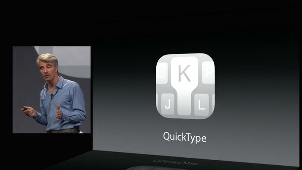 Apple Copies Every Android Keyboard on Earth, Introduces QuickType - http://t.co/RBueRPQ9fE #android #apple #wwdc http://t.co/VyjlVWBZVY
