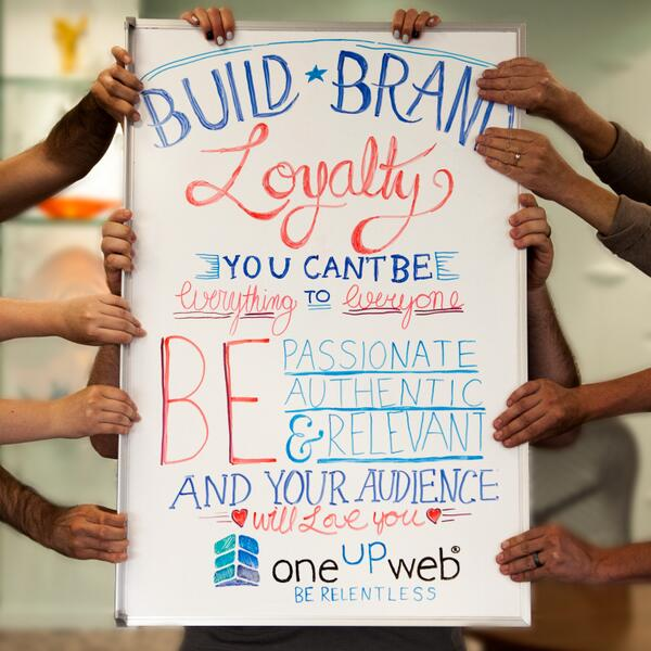 #Marketing Tip of the Week: Build #Brand Loyalty. http://t.co/fgx9rKPSdX http://t.co/bzxkSHupsG