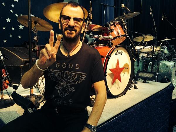 The Beatles Polska: Ringo Starr składa życzenia muzykowi z The Rolling Stones