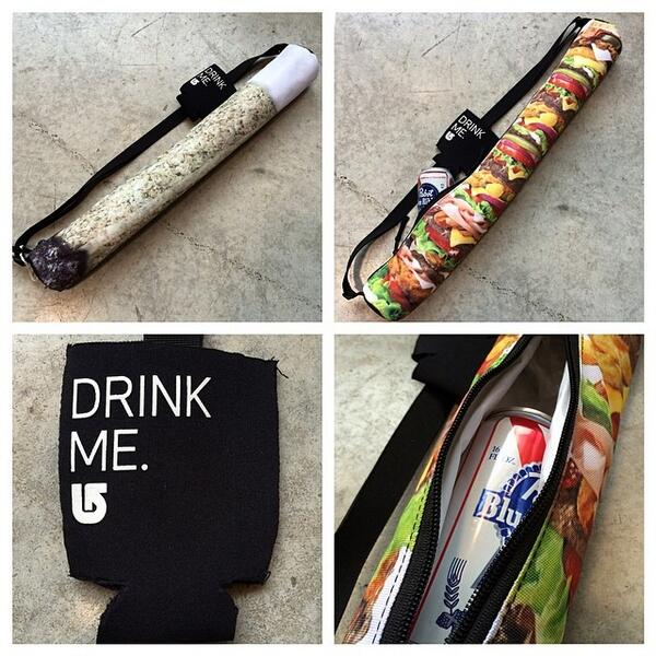 Keep 'em cold on your next bike ride or skate sesh with the 'Beeracuda' from @burtonsnowboard - $20. #beeracuda #beer http://t.co/QFthsmXPAV