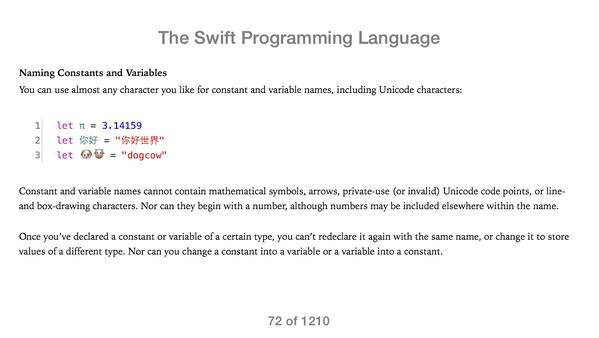 이제 유지보수 불가능한 코드 만들기가 쉬워졌습니다.. #Swift http://t.co/3M66467j0D