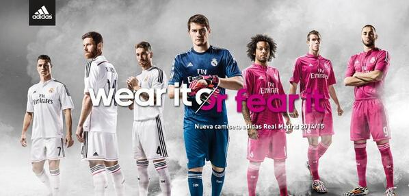 BpJzCsHIIAACvIA Real Madrid stars officially unveil their new kits, including a bright pink away kit [Pictures]