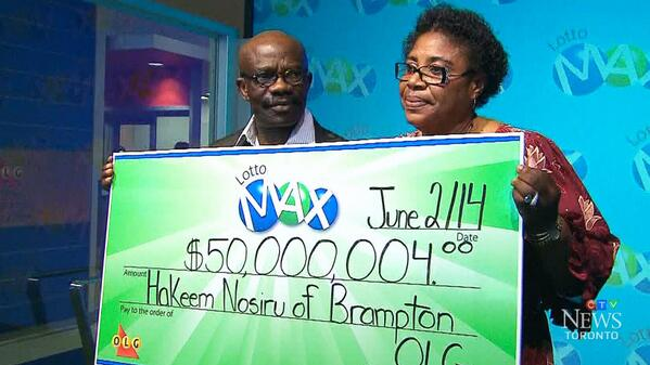 Couple Finds $50 Million LottoMax Ticket They Had Lost For Months