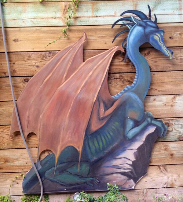 Just a Dragon at Pageant of the Masters Back Studio Taken By Bridget Willard 6/2/14