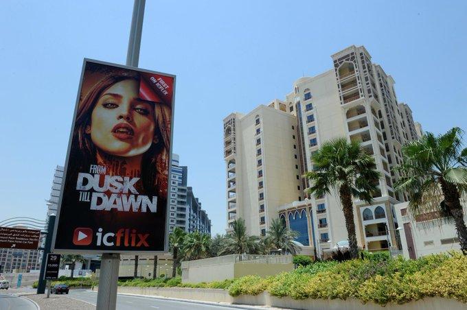 Woooow #Dubai @Rodriguez RT @icflix: #FromDuskTillDawn lamppost in #Dubai #Palmjumeirah #icflix  http://t