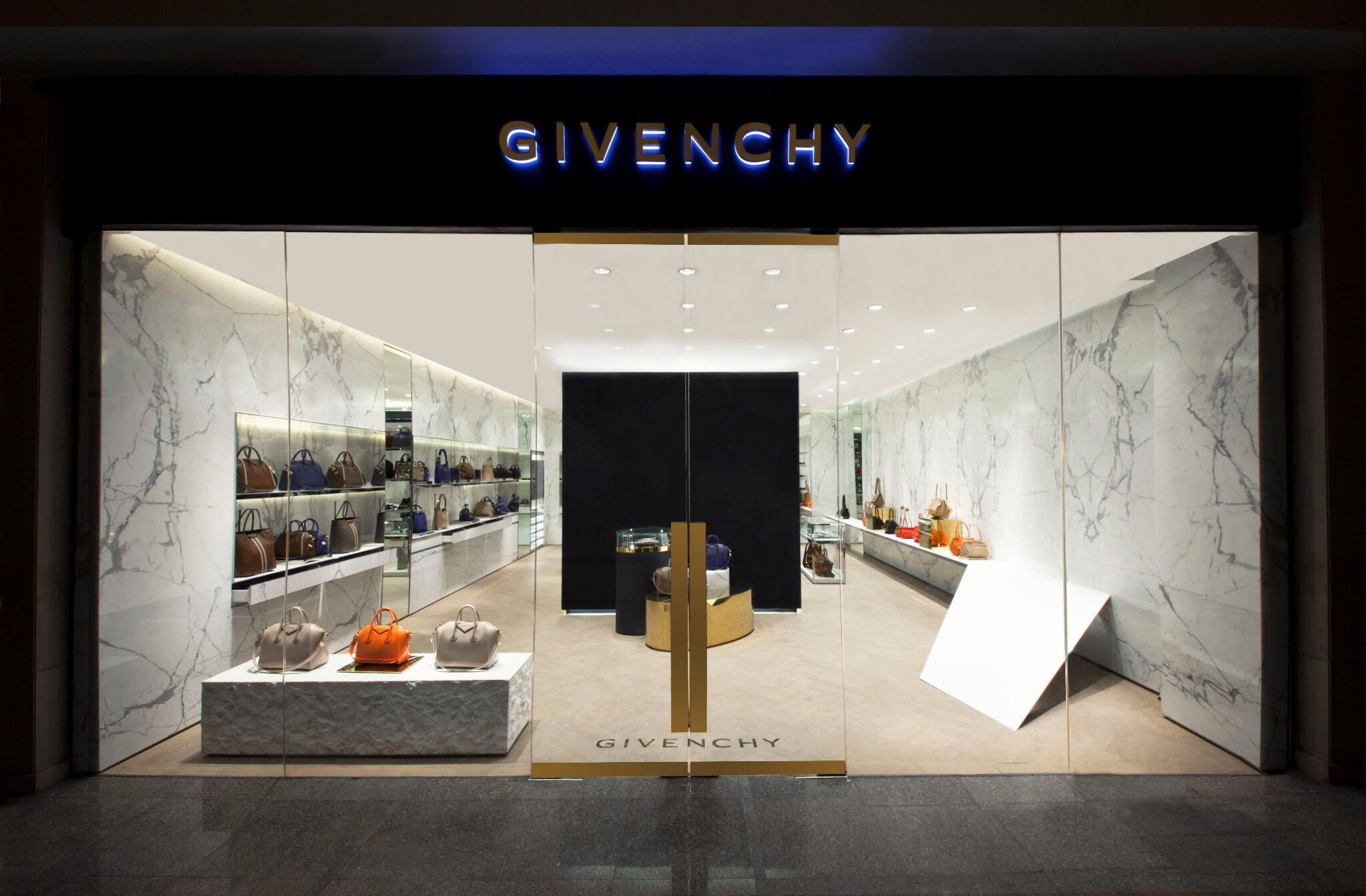 Givenchy Opens New Store in Greenbelt 4, Manila