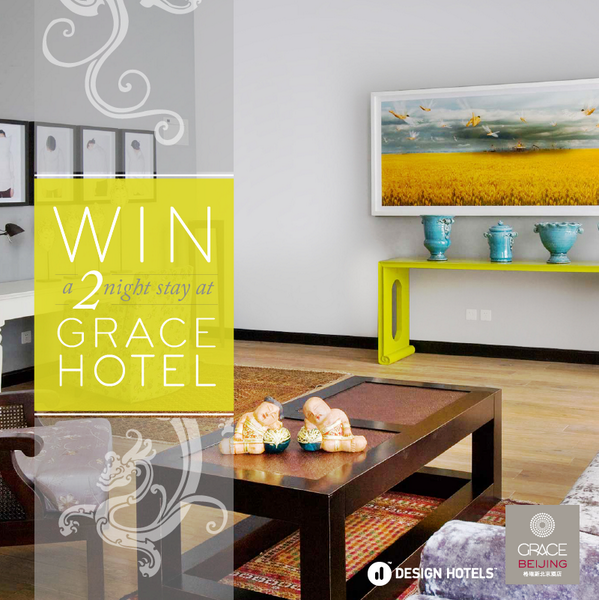 This month we're giving away a 2-night stay at the @GraceHotels in #Beijing!  http://t.co/uz4vgZvllc @Design_Hotels http://t.co/Q65YlUvWBD
