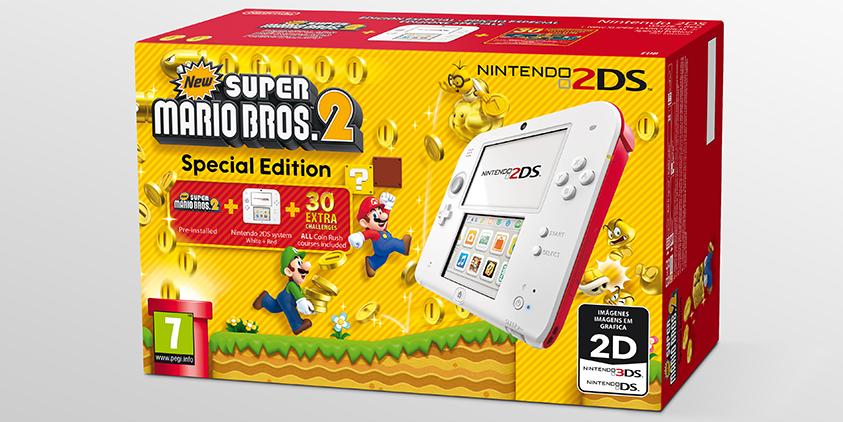 2DS New Super Mario Bros 2