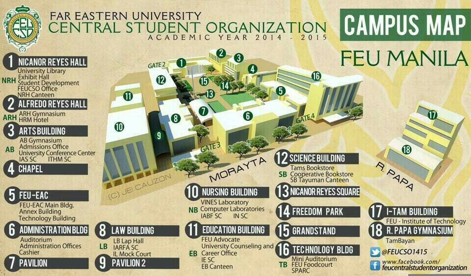 feu map inside campus The Portraits Mnl On Twitter Oh Tams Feu Map Para Di Mawala feu map inside campus