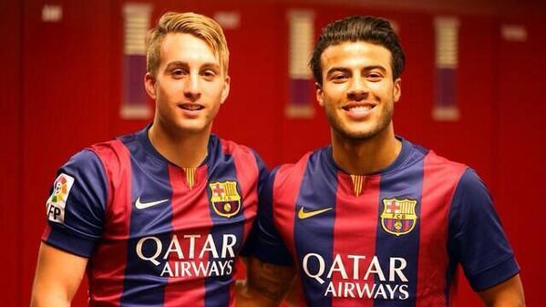 Ya estamos en casa! FCB. http://t.co/WI90HViiep