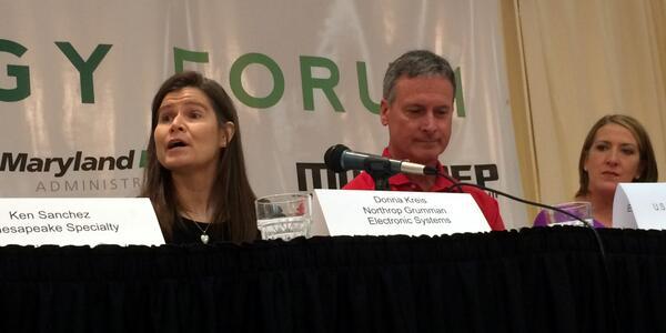 "RMI of Maryland on Twitter: ""Donna Kreis, @northropgrumman: ""RMI has a great set of highly qualified eyes to focus on energy reduction."" #NextGenM http://t.co/lmrTLBD7gH"""