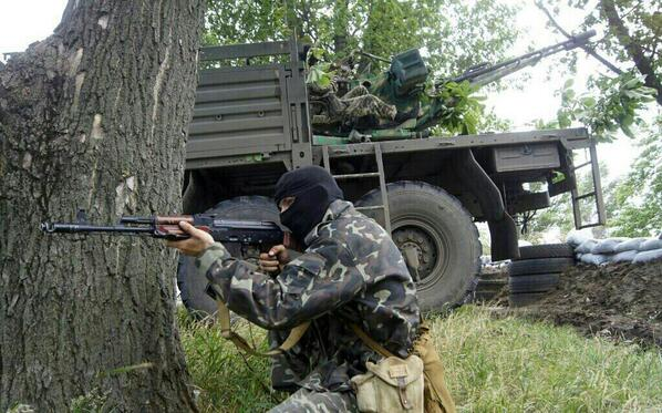 В зоне АТО украинские военнослужащие подорвали изъятые у террористов боеприпасы - Цензор.НЕТ 788