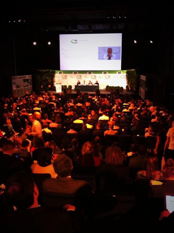 Opening ceremony #GreenWeek #greenweek2014 #EUGreenWeek http://t.co/LnyV7DeMWD