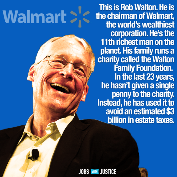 You'll want to RT this fact about the Walton family. (via @jwjnational) #walmartstrikers #walmarteconomy http://t.co/sDXGh8olKR