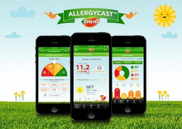 Gamify your allergy diagnosis with @Zyrtec's AllergyCast #app: http://t.co/0nqEgYkWLI #gamification #health http://t.co/Q9acPW2R74