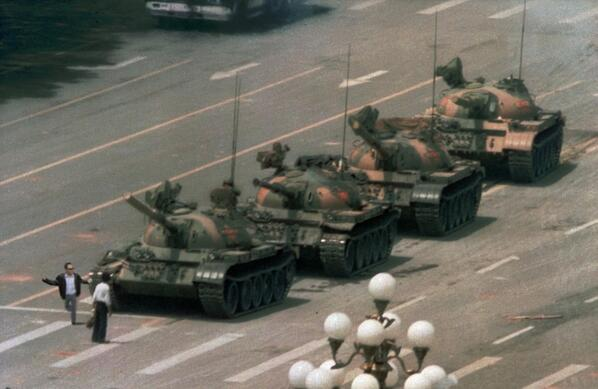The 25th anniversary of Tiananmen Square and @MikeSilver's heroic moment. http://t.co/Lr0YiFpaXX