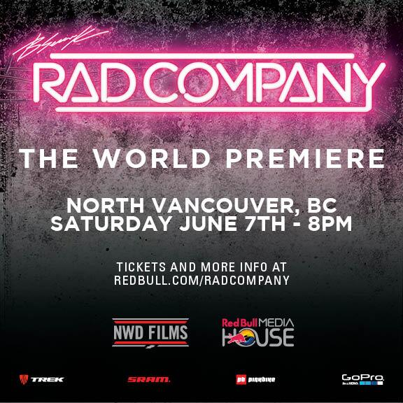 Want a chance to win a free pair of tickets to the world premiere of #RadCompany in #Vancouver? RT this. http://t.co/SP3MyhiKWO