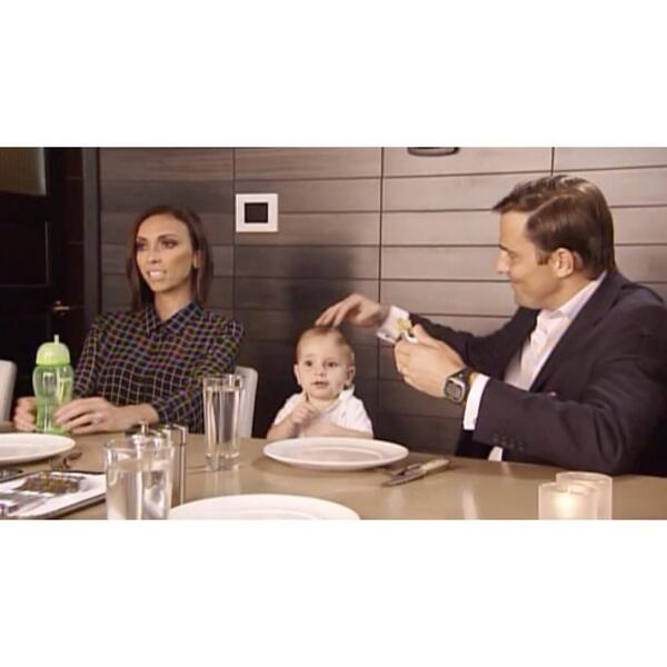 Watching! Loving the green straw cup :) MT @GiulianaRancic: We review the new menu for RPM Steak on #GandB! http://t.co/4ochL09NdH