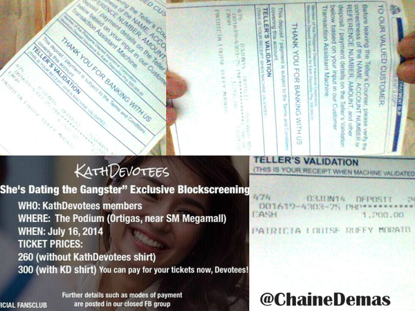 Shes dating the gangster sm ticket