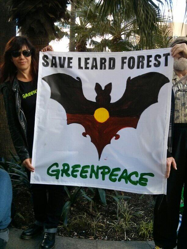 Twitter / GreenpeaceAustP: Greenpeace supporter @daelevine: ...