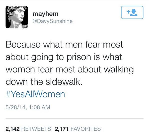 The best #YesAllWomen tweet http://t.co/gP115miVzS