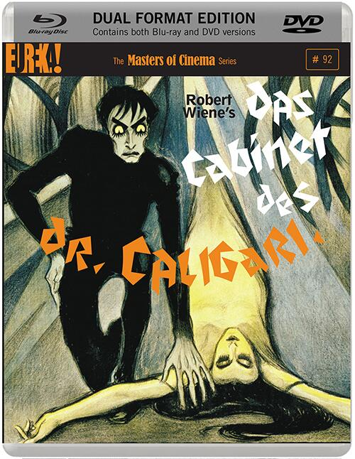 A Dual Format edition of DAS CABINET DES DR. CALIGARI will be released on 29 Sept, and this will be the packshot http://t.co/T6ebpCW5vp