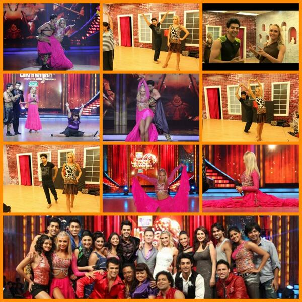 """""""@Cfc_Craig: @D8Iveta DWTS India (Jhalak DIkhla Jaa x http://t.co/nOMYwQfzzL""""I had an amazing time dancing in India with @gurruchoudhary :-)"""