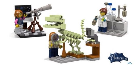 Hooray! LEGO are making the female science sets. Well done everyone who voted x http://t.co/0F270O891q http://t.co/L1hoOPAwhc