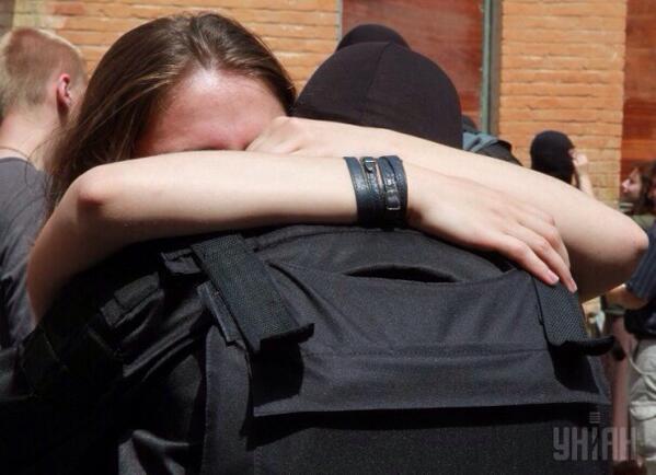 """Бойцы батальона """"Азов"""" читают молитву перед отправкой на Донбасс - Цензор.НЕТ 6616"""