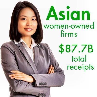 Asian American Women Owned Firms $87.7 Billion Total Receipts http://t.co/9kRxkvKsxH @fleejack @bimada #WHIAAPI #AAPI http://t.co/1MKTucd7MW