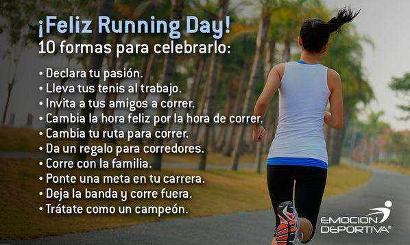 Hoy se celebra en EUA el National Running Day. Y ustedes, ¿se unen al festejo? Conoce más en:http://t.co/4URmX8l8gA http://t.co/QYzKJb3nN5