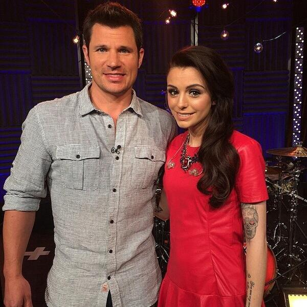 Thanks for performing for us today @cherlloyd! You were incredible! #vh1buzz http://t.co/YYfXXq2uNr
