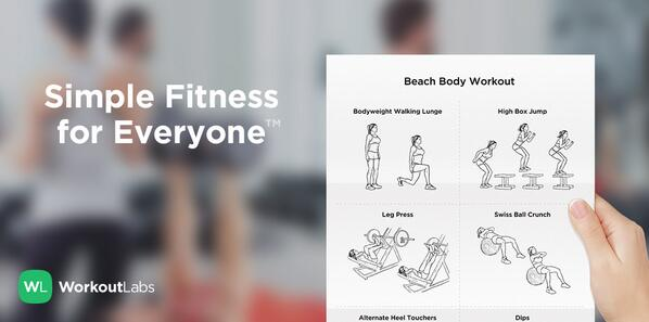 photo about Printable Workout Cards known as WorkoutLabs upon Twitter: \
