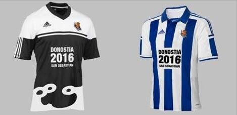 equipacion Real Sociedad nuevo