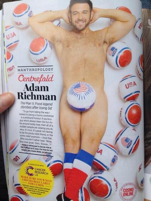Adam Richman Young Adam Richman on...