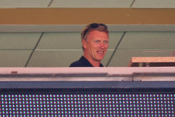Ex Man United manager David Moyes turns up to watch England v Ecuador [Pictures]