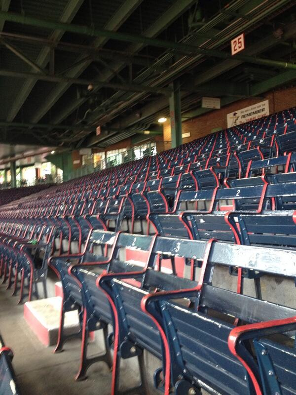 From the tour of Fenway Park for @Suffolk_U Orientation! #suorientation http://t.co/4eUrxiL4Px