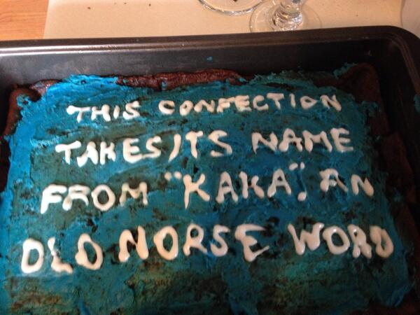 Tonight's the night! Thanks to @davidpowell for this lovely confection! @Jeopardy http://t.co/Qj8w8RciGu