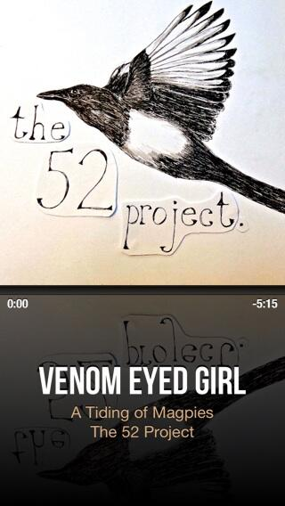 NowPlaying Venom Eyed Girl By A Tiding Of Magpies With CarTunesApp Pictwitter 6Rkm7WNw32