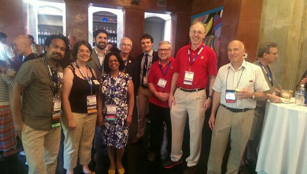 The Board and our first-time attendee NIU student, Andy Thompson, we were able to send to #AIHce http://t.co/KF1xFJpnAk