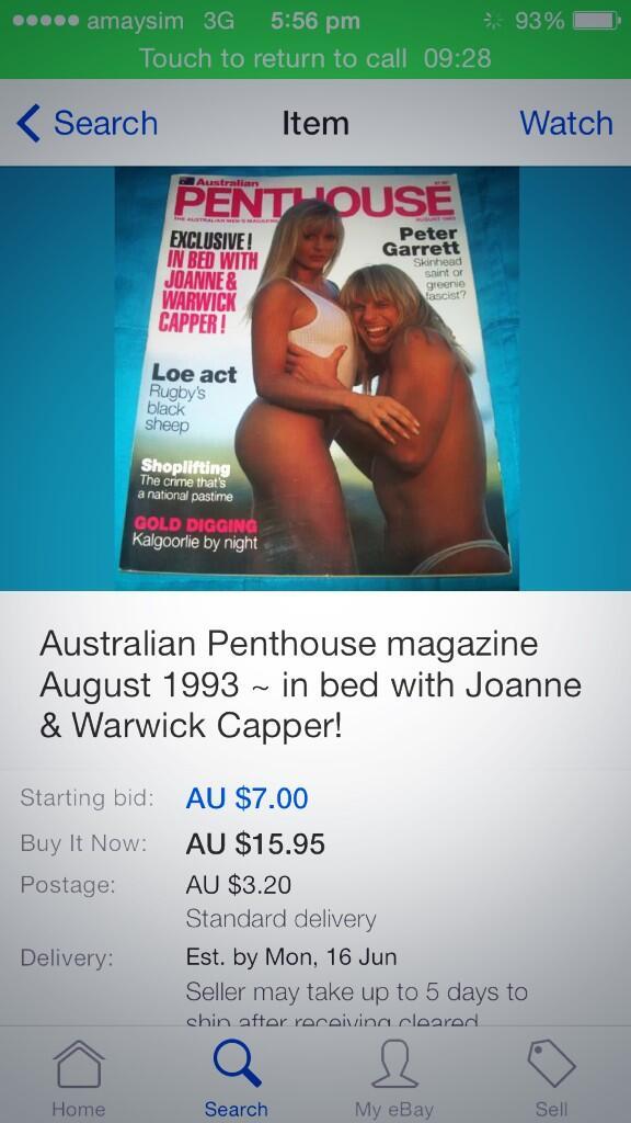 Warwick capper porn