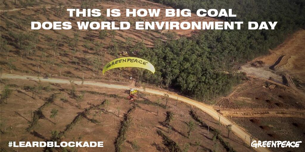 Twitter / GreenpeaceAustP: This is how Big Coal does World ...