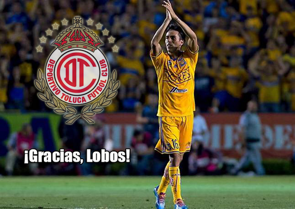 Lobos va al Toluca. #GraciasLobos http://t.co/ZYPZUMjtSg
