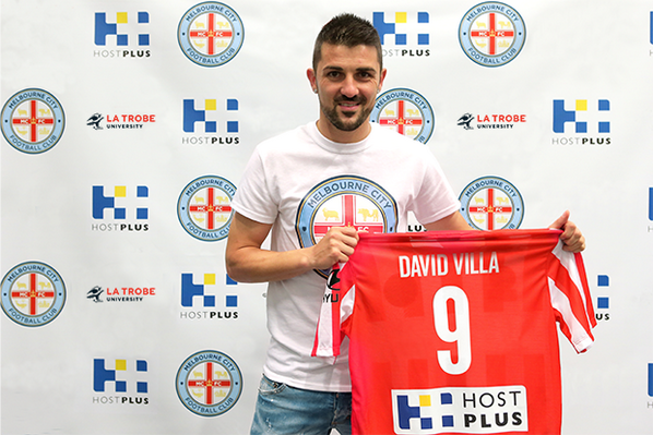ANNOUNCEMENT | David Villa will join the Club for a period of the 2014-15 season > http://t.co/9zDkgdOZ8Z http://t.co/LSIvaG06ml
