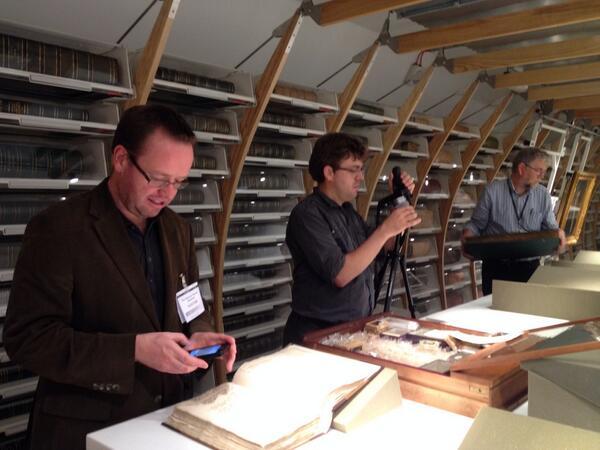 Researching Tea at the Sloane Herbarium